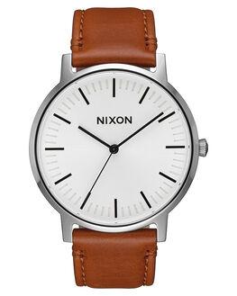 WHITE SUNRAY SADDLE MENS ACCESSORIES NIXON WATCHES - A10582442