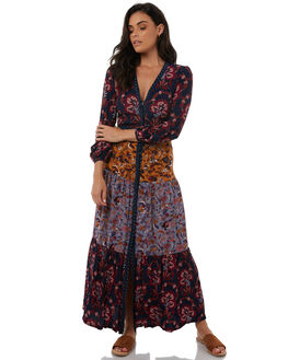 PATCHWORK WOMENS CLOTHING TIGERLILY DRESSES - T383416PATCH