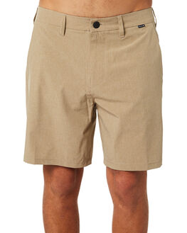 KHAKI MENS CLOTHING HURLEY SHORTS - 895085235