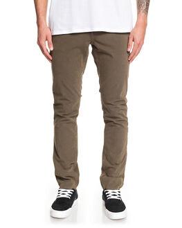 CROCODILE MENS CLOTHING QUIKSILVER PANTS - EQYNP03169-CRN0