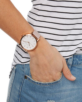 ROSE GOLD WHITE MENS ACCESSORIES THE HORSE WATCHES - ST0123-A14RGWBL