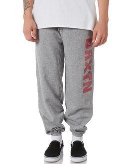 HEATHER GREY MENS CLOTHING BRIXTON PANTS - 04102HGRY