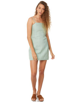 SEAFOAM WOMENS CLOTHING ZULU AND ZEPHYR DRESSES - ZZ2121SEA