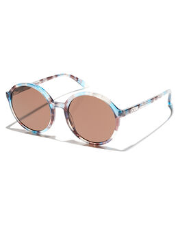 TORTOISE BLUE BROWN WOMENS ACCESSORIES ROXY SUNGLASSES - ERJEY03051XBBC