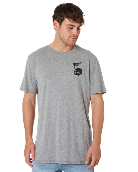 GREY MARLE OUTLET MENS SWELL TEES - S52011005GRYMA