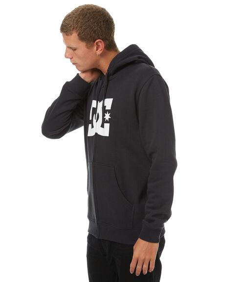 BLACK MENS CLOTHING DC SHOES JUMPERS - EDYSF03108KVJ0