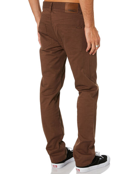 VINTAGE BROWN MENS CLOTHING VOLCOM PANTS - A1111703VBN