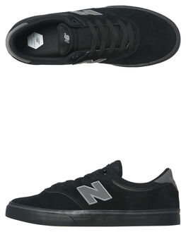 BLACK BLACK MENS FOOTWEAR NEW BALANCE SKATE SHOES - NM255BBB