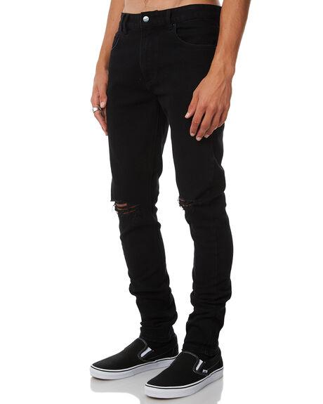 BLACK ATLAS SLASH MENS CLOTHING INSIGHT JEANS - 1000064651BLK