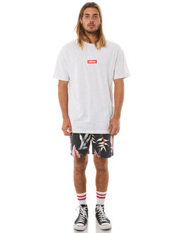 WHITE MENS CLOTHING STUSSY TEES - ST073015WHI