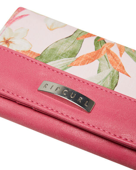 LIGHT PINK WOMENS ACCESSORIES RIP CURL PURSES + WALLETS - LWUJP11764