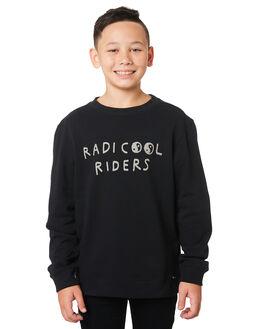BLACK COAL KIDS BOYS RIDERS BY LEE JUMPERS + JACKETS - R-30082T-N28BLKCO