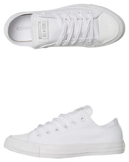 WHITE WOMENS FOOTWEAR CONVERSE SNEAKERS - 563464WHT