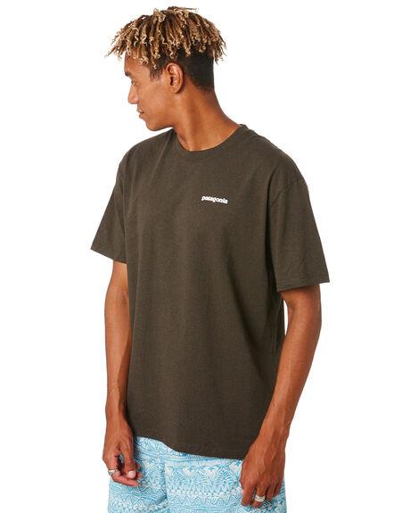 LOGWOOD BROWN MENS CLOTHING PATAGONIA TEES - 39174LDBR