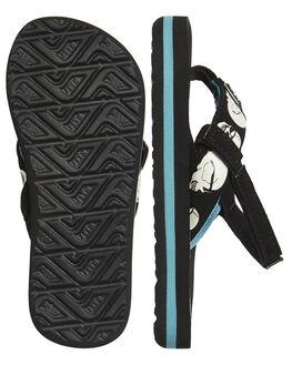 BLUE SKULLS KIDS TODDLER BOYS REEF FOOTWEAR - A3KJNBS1