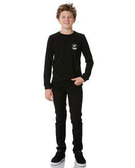 BLACK KIDS BOYS SWELL TEES - S3184104BLACK