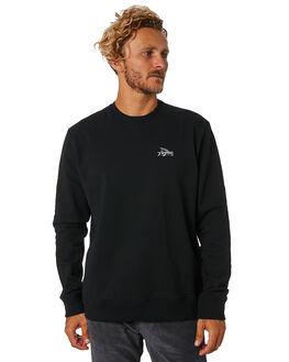 BLACK MENS CLOTHING PATAGONIA JUMPERS - 39542BLK