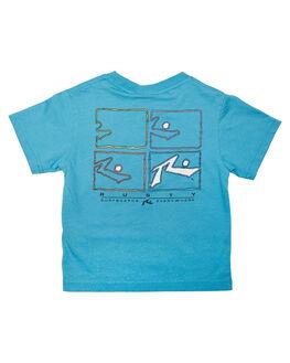 MAUI BLUE KIDS BOYS RUSTY TOPS - TTR0429MBU