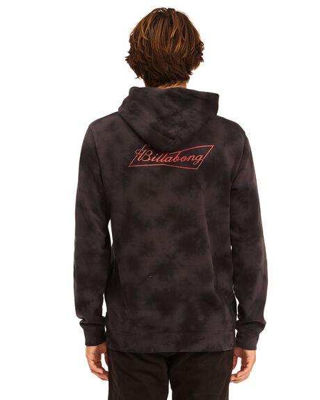 BLACK MENS CLOTHING BILLABONG HOODIES + SWEATS - 9513600-BLK