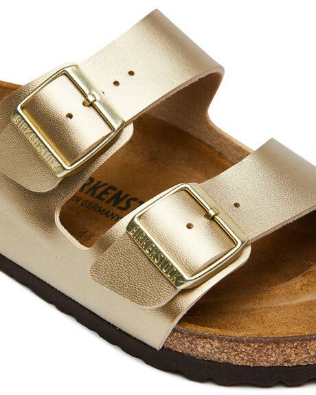 GOLD WOMENS FOOTWEAR BIRKENSTOCK FASHION SANDALS - 1016110GOLD