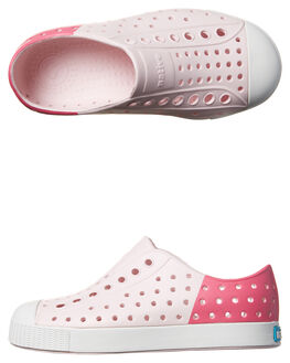 MILK PINK KIDS TODDLER GIRLS NATIVE FOOTWEAR - 13100102-8428PNK