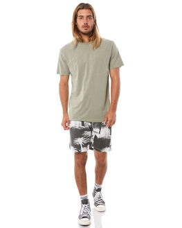 DISTORTED PALM MENS CLOTHING THRILLS BOARDSHORTS - TH8-312BZDPALM