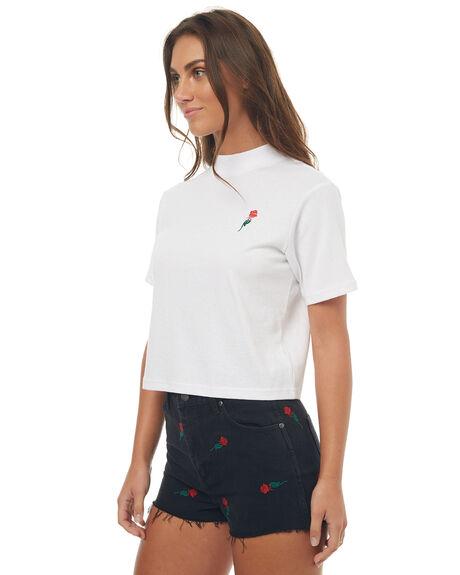 WHITE WOMENS CLOTHING WRANGLER TEES - W950976N60