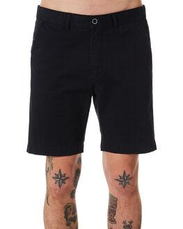 BLACK MENS CLOTHING DR DENIM SHORTS - 1340110-101