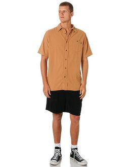 CAMEL MENS CLOTHING RUSTY SHIRTS - WSM0905CAM