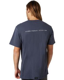 FADED MARINE MENS CLOTHING THRILLS TEES - TW8-105EFMRN