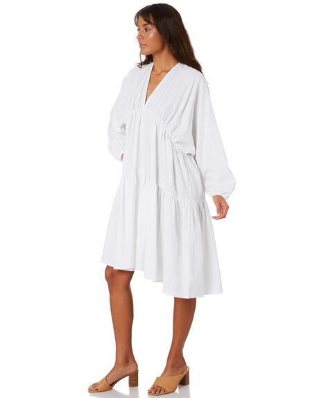 WHITE WOMENS CLOTHING ZULU AND ZEPHYR DRESSES - ZZ3052WHITE