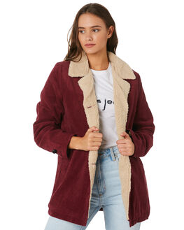 BORDEAUX WOMENS CLOTHING ROLLAS JACKETS - 13023-2699