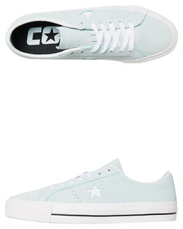 TEAL MENS FOOTWEAR CONVERSE SKATE SHOES - SS163252TEALM