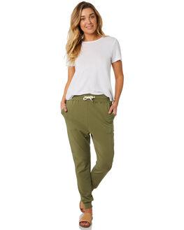 KHAKI WOMENS CLOTHING SWELL PANTS - S8184191KHAKI