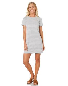 GREY MARLE STRIPE WOMENS CLOTHING SWELL DRESSES - S8188441GYMAS