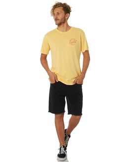 YELLOW MENS CLOTHING OAKLAND SURF CLUB TEES - AW18T4004