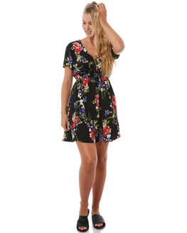 FLORAL WOMENS CLOTHING SWELL DRESSES - S8182448FLRAL