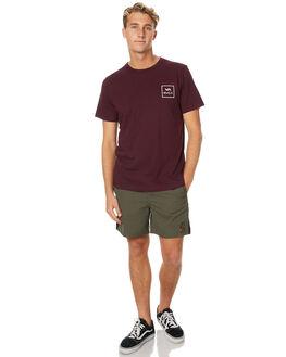 PLUM MENS CLOTHING RVCA TEES - R171060PLUM
