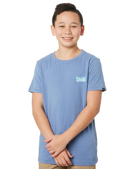 BLUE KIDS BOYS ST GOLIATH TOPS - 2440006BLU