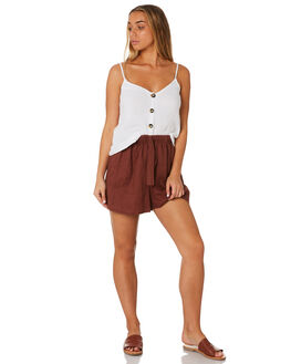 BRANDY WOMENS CLOTHING RHYTHM SHORTS - JUL19W-WS02BRN