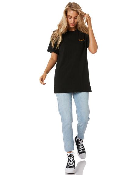 BLACK WOMENS CLOTHING DEPACTUS TEES - SSD5213001BLKW