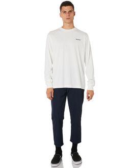 WHITE MENS CLOTHING THRILLS TEES - TH9-118AWHT