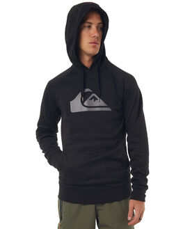 BLACK MENS CLOTHING QUIKSILVER JUMPERS - EQYFT03635KVJ0