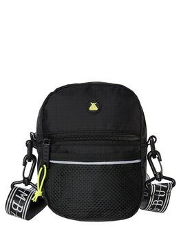 BLACK MENS ACCESSORIES THE BUMBAG CO BAGS + BACKPACKS - CB037BLK