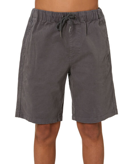 GREY KIDS BOYS SWELL SHORTS - S3213235GRY
