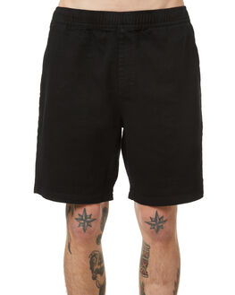BLACK MENS CLOTHING NO NEWS SHORTS - N5174234BLK