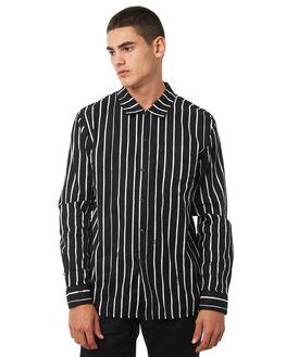 BLACK MENS CLOTHING VOLCOM SHIRTS - A0531805BLK