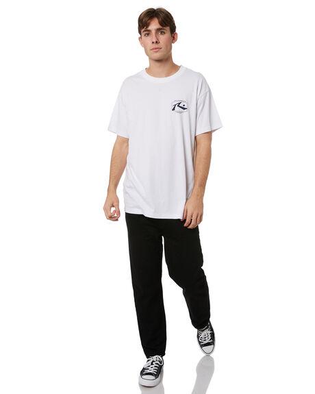 WHITE MENS CLOTHING RUSTY TEES - TTM2510WHT