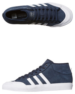 NAVY WHITE MENS FOOTWEAR ADIDAS ORIGINALS SKATE SHOES - BY3203NVY