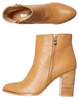 TAN WOMENS FOOTWEAR BILLINI BOOTS - B830TAN